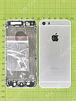 Задняя крышка iPhone 5S с кнопками (под iPhone 6) Оригинал Китай Белый