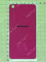 Задняя крышка Lenovo S850 с двухсторонним скотчем Копия АА Розовый