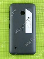 Задняя крышка Nokia Lumia 530 Dual SIM с кнопками Оригинал Черный