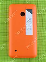 Задняя крышка Nokia Lumia 530 Dual SIM с кнопками Оригинал Оранжевый