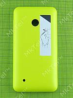 Задняя крышка Nokia Lumia 530 Dual SIM с кнопками Оригинал Желтый