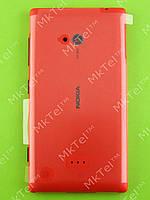 Задняя крышка Nokia Lumia 720 в сборе Оригинал Красный