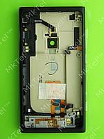 Задняя крышка Nokia Lumia 800 в сборе Оригинал Черный