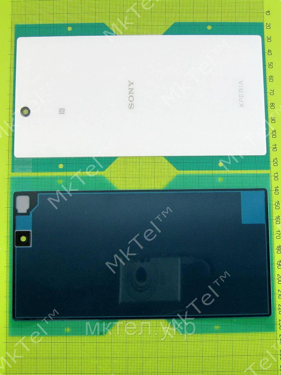 Задняя крышка Sony Xperia Z Ultra C6802 с скотчем, белый orig-china