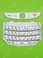Клавиатура Blackberry 9800 Torch, без кирил. Оригинал Китай Белый