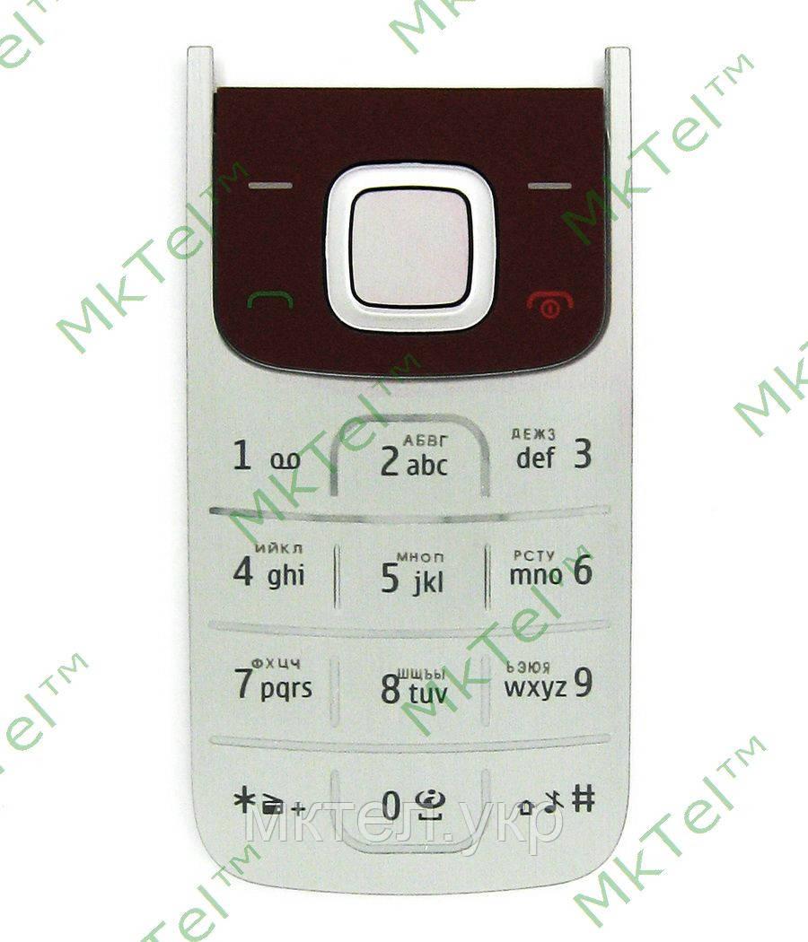 Клавиатура Nokia 2720 fold, красный orig-china