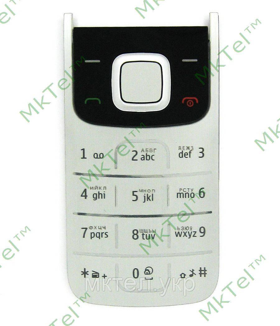 Клавиатура Nokia 2720 fold, черный orig-china
