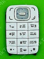 Клавиатура Nokia 6131 Копия А Белый