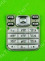 Клавиатура Nokia 6233 Оригинал Китай Серебристый