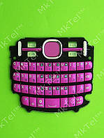 Клавиатура Nokia Asha 200 Оригинал Розовый