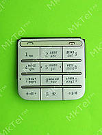 Клавиатура Nokia C3-01 Оригинал Серебрист.