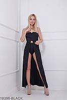 Женское платье Подіум Lilian 18398-BLACK XS Черный