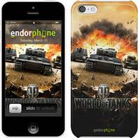 "Чехол на iPhone 5c World of tanks v1 ""834c-23"""