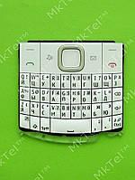 Клавиатура Nokia X2-01 Оригинал Белый
