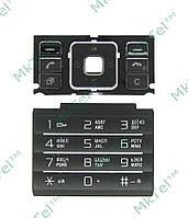 Клавиатура Sony Ericsson C905 Копия АА Черный
