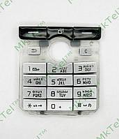 Клавиатура Sony Ericsson K750 Копия АА Серебрист.