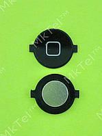 Кнопка Home iPod Touch 3Gen Оригинал Европа Черный