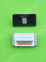 Кнопка вибромотора iPhone 5 Оригинал Китай Серебристый