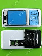 Корпус Nokia 6288, 2 части с клавиатурой Копия АА Белый