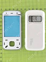 Корпус Nokia N86, 2 части Копия АА Белый