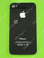 Крышка батареи iPhone 4G Копия А Черный