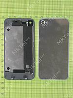 Крышка батареи iPhone 4G без логотипа Копия А Серебристый