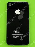 Крышка батареи iPhone 4S Копия А Черный
