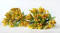 Ветки декоративные весенние желтые 10 веточек
