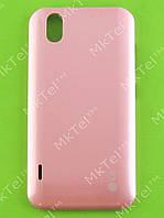 Крышка батареи LG Optimus Black P970 Оригинал Китай Розовый