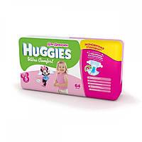 Подгузники Huggies Ultra Comfort для девочек 5 (12-22кг)-64шт