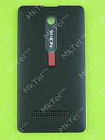 Крышка батареи Nokia Asha 210 Dual SIM Оригинал Черный