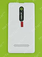 Крышка батареи Nokia Asha 210 Dual SIM Оригинал Белый
