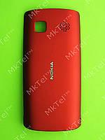 Крышка батареи Nokia Asha 500 Dual SIM Оригинал Красный