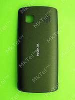 Крышка батареи Nokia Asha 500 Dual SIM Оригинал Темно-зеленый