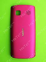 Крышка батареи Nokia Asha 500 Dual SIM Оригинал Розовый