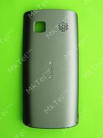 Крышка батареи Nokia Asha 500 Dual SIM Оригинал Серый