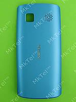 Крышка батареи Nokia Asha 500 Dual SIM Оригинал Светло-синий