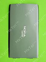 Крышка батареи Nokia E52 Оригинал Металлик