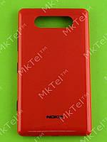 Крышка батареи Nokia Lumia 820 Оригинал Красный глянцевый