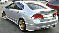 Спойлер багажника (лип спойлер, сабля, утиный хвостик) Honda Civic 2006-2011 г.в. Хонда Цивик