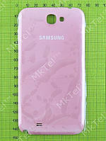 Крышка батареи Samsung Galaxy Note 2 N7100 с антенной Оригинал Китай Розовый