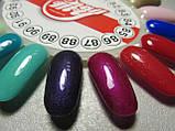 Гель-лак My Nail №88 (глубокий фиолетовый с перламутром) 9 мл, фото 2