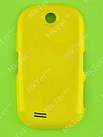 Крышка батареи Samsung S3650 Corby Оригинал Китай Желтый