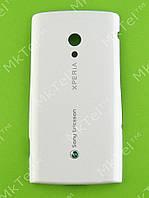 Крышка батареи Sony Ericsson Xperia X10 Оригинал Китай Белый