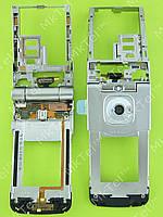 Механизм поворотный Nokia 7510 Supernova в сборе Оригинал Китай Серебристый