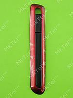 Левая боковая панель Samsung E2370 Xcover, красный, Оригинал #GH98-16830B