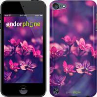"""Чехол на iPod Touch 5 Пурпурные цветы """"2719c-35"""""""
