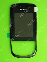 Передняя панель Nokia 3600 slide Оригинал Черный