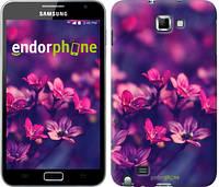"Чехол на Samsung Galaxy Note i9220 Пурпурные цветы ""2719u-316"""