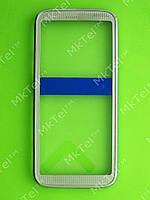 Передняя панель Nokia 5530 Оригинал Белый с голубым